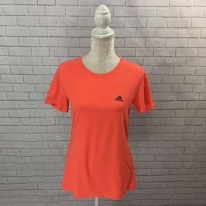 Bright Orange Adidas T-shirt